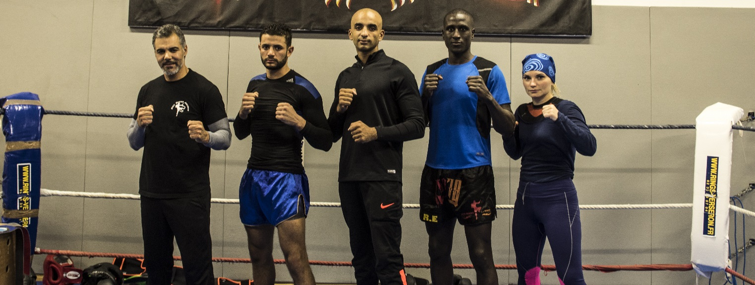 Kick-boxing Arcisien - Les coaches